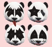 panda kiss  One Piece - Short Sleeve