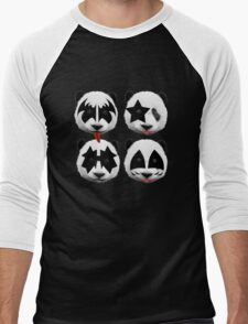 panda kiss  Men's Baseball ¾ T-Shirt