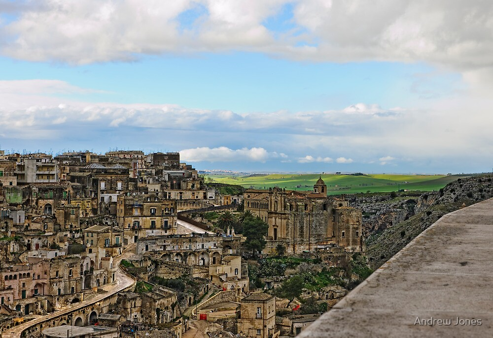 The Sassi, Matera, Basilicata, Italy by Andrew Jones