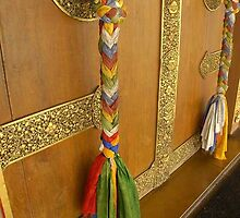 Tibetan Meditation Hall door by chakraonline