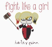 Fight Like a Girl - Harley Quinn Kids Clothes