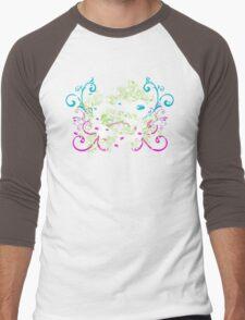 Splitty Swirl Men's Baseball ¾ T-Shirt