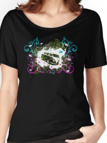 Splitty Swirl Women's Relaxed Fit T-Shirt
