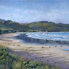 Deserted beach  by Ann Nightingale