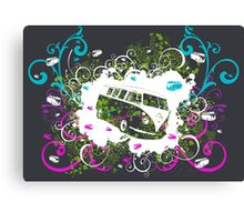 Splitty Swirl Canvas Print