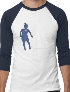 Jump. Because you can. Men's Baseball ¾ T-Shirt