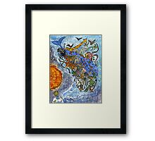 The Creation of the World Framed Print