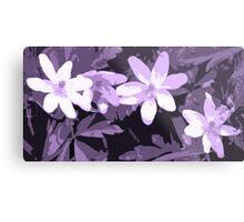Three flowers Metal Print