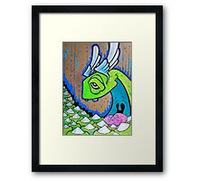 DENTAL WET DREAM Framed Print