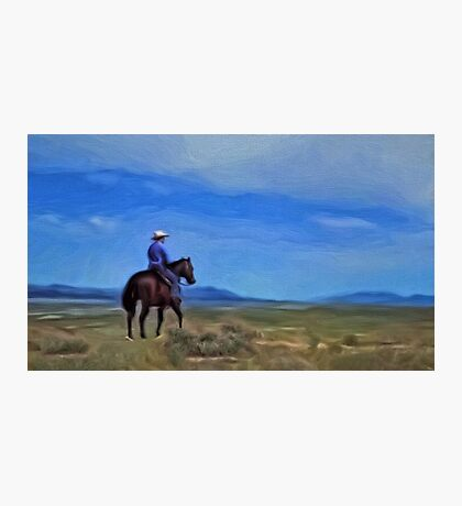 The Wild Blue Yonder Photographic Print