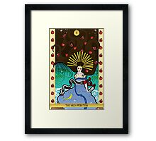 ii The High Priestess Framed Print