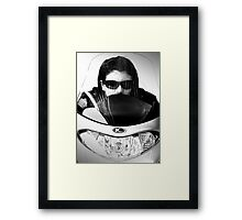 Shielded from...... Framed Print