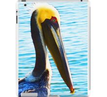 Big Bill - Pelican Art By Sharon Cummings iPad Case/Skin