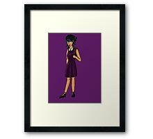 Schoolgirl Elysia Framed Print