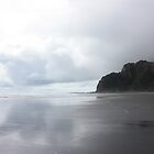 Karekare Beach, New Zealand by squidypoo