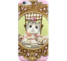 The Cat Who Got The Cake iPhone Case/Skin