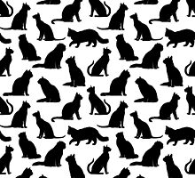 Cat Pattern by wellbreddesign