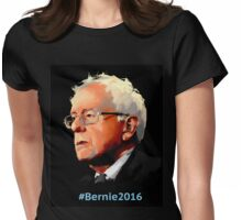 #Bernie2016 Womens Fitted T-Shirt