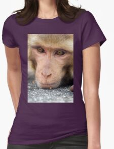 The Thinker Womens Fitted T-Shirt