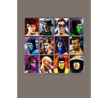 Mortal Kombat 2 Character Select Photographic Print