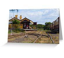 Bellarine  Station. Greeting Card