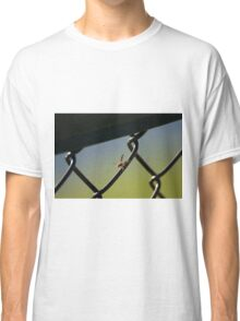 Hornet on Chain link fence Classic T-Shirt