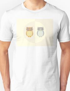 Two Owls Unisex T-Shirt