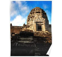 Inside the Angkor Wat Poster