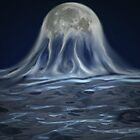 Birth of the moon by collin