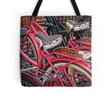 Twins - Bicycle Art By Sharon Cummings Tote Bag