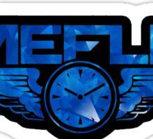 Timeflies - Blue Sticker