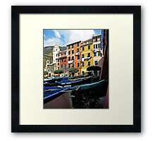 Cinque Terre, Italy Framed Print