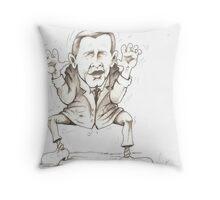 George W's Shoe Dango Throw Pillow