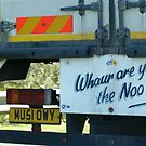 Whaur are ye the noo? by BronReid