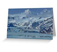 Glacier Bay, Juneau, ALASKA,  Greeting Card