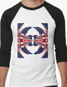 American Flag Polar Coordinate Abstract 1 T-Shirt