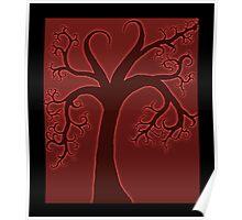 Whimsical Tree Full of Love Poster