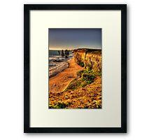 12 Take 2  - Twelve Apostles, Great Ocean Road - The HDR Experience Framed Print