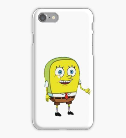 normal spongebob iPhone Case/Skin