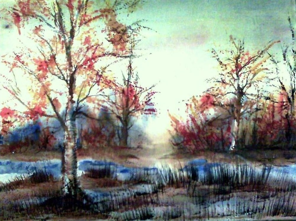 October by Vicki James