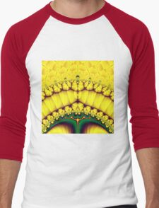Buttercream Sunrise Over The Meadow Fractal Abstract T-Shirt