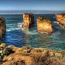 Six Degrees of Separation - Loch Ard Gorge - Great Ocean Road - The HDR Experience by Philip Johnson