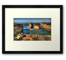 Six Degrees of Separation #3- Loch Ard Gorge - Great Ocean Road - The HDR Experience Framed Print