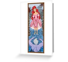 Toes in the water Greeting Card
