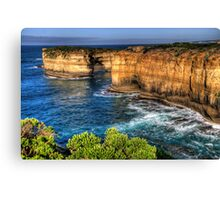 Weathered By Time - Great Ocean Road , Victoria , Australia - The HDR Experience Canvas Print