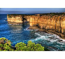 Weathered By Time - Great Ocean Road , Victoria , Australia - The HDR Experience Photographic Print
