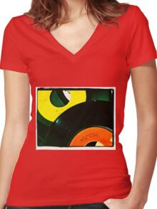 A Couple More Years Women's Fitted V-Neck T-Shirt