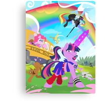 My Little Pony: Crossovers are Magic Canvas Print