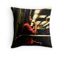 Le Metro Throw Pillow