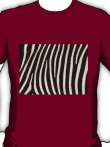 T Shirt Zebra Pattern T-Shirt